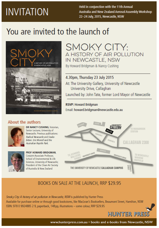 History of Air Pollution Book Launch